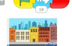 ScratchJr入门教程:让小猫在城市里开车【第一课】