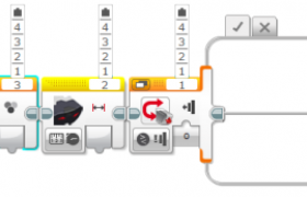乐高EV3编程模块端口选择方法